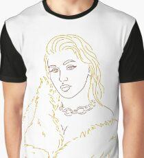 Minimalist Xtina Graphic T-Shirt