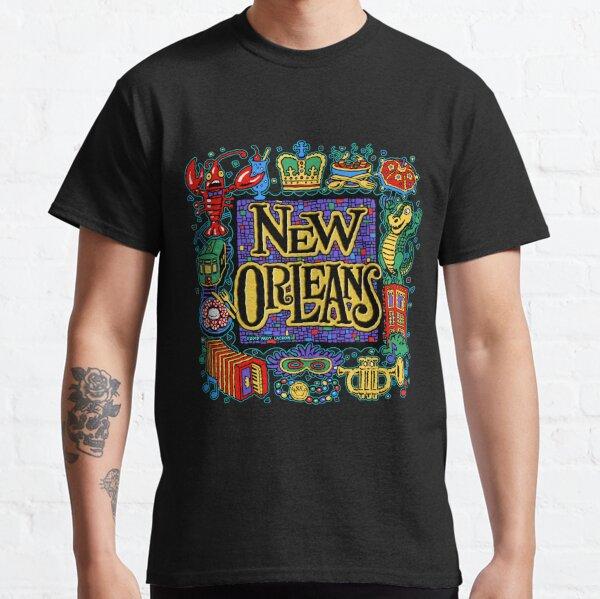 Nouvelle-Orléans - Andy Lackow Designs T-shirt classique