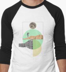 Camiseta ¾ bicolor para hombre Excursionismo
