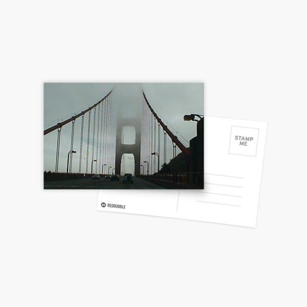 fogged in Postcard