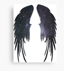 Angel Plain Galaxy Wings Canvas Print