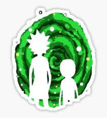 Teleport Rick - Travel Rick - Travel Morty - Teleport Morty Sticker