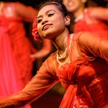 Burmese Dance 1 by fotoWerner