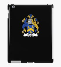Baxter Coat of Arms - Family Crest Shirt iPad Case/Skin