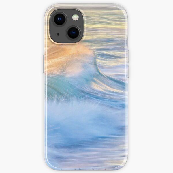 Waves In Motion, Quinns Rocks, Perth iPhone Soft Case