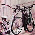 Bikes on the boardwalk by vigor