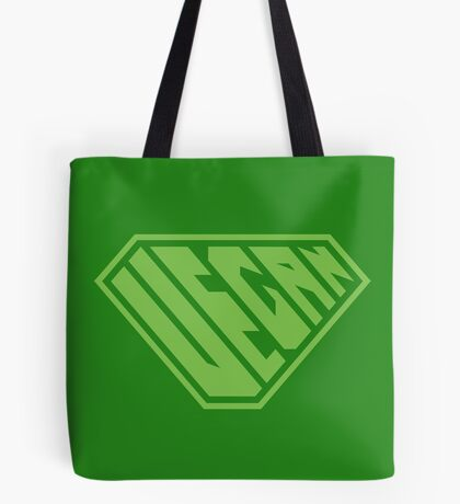 Vegan SuperEmpowered (Green) Tote Bag