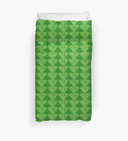 Vegan SuperEmpowered (Green) Duvet Cover