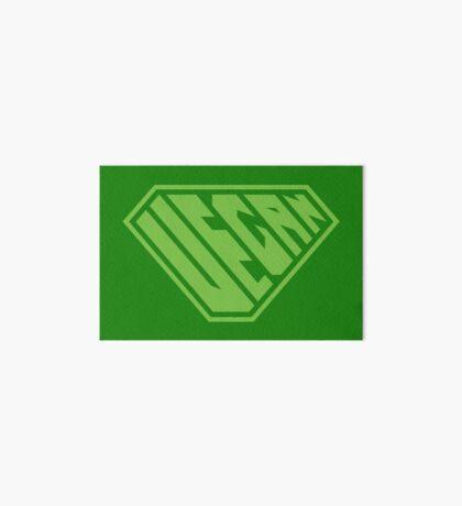 Vegan SuperEmpowered (Green) Art Board Print