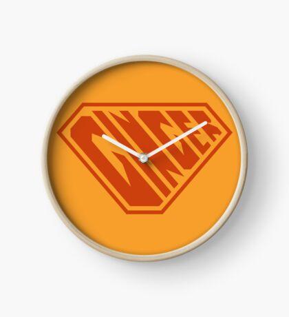 Ginger SuperEmpowered (Ginger) Clock