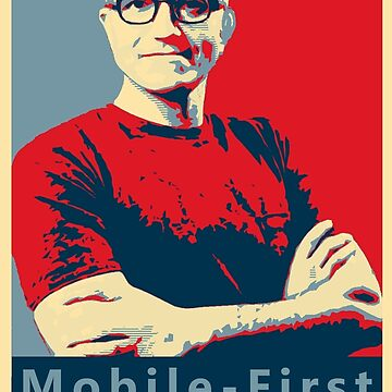 Satya Mobile First Cloud First Street Poster by memeshe