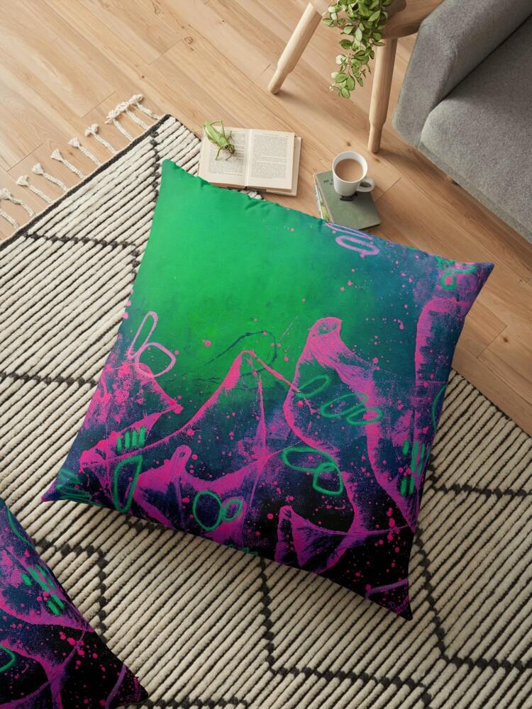 Abstract Art Oil Pastel
