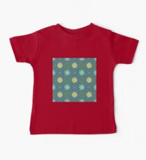 Abstract green flowers pattern Kids Clothes
