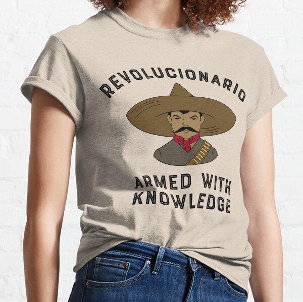 Revolucionario armado de conocimiento Camiseta clásica