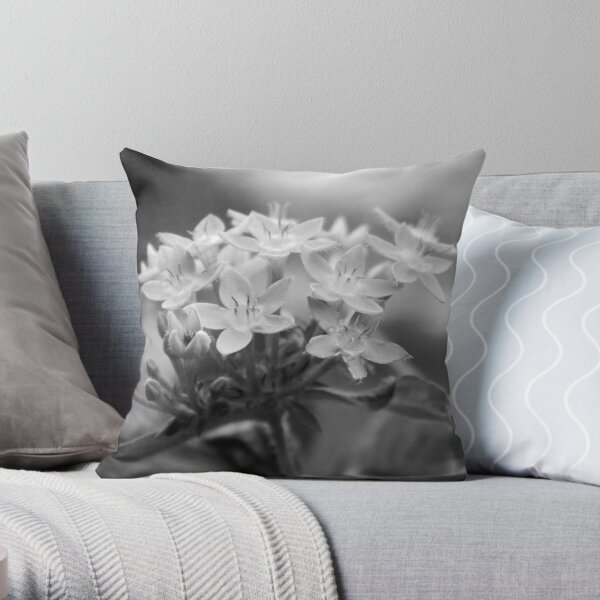 Pentas B&W Throw Pillow