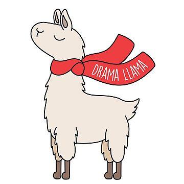 Drama Llama by Twoandthree
