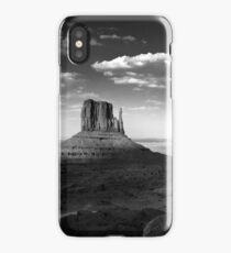 Monument Valley in Black & White  iPhone Case