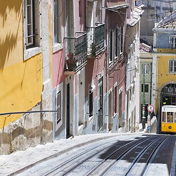 The Bica Funicular, Lisbon by markhiggins