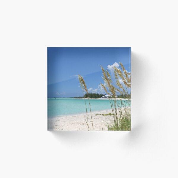 Treasure Cay Beach III Acrylic Block