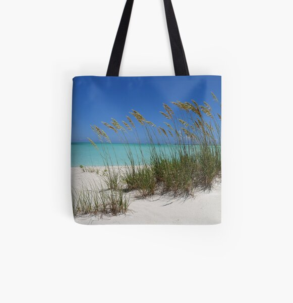 Sea Grass at Treasure Cay  All Over Print Tote Bag
