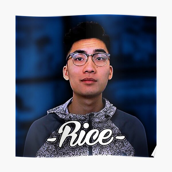 Official RiceGum Tee Poster