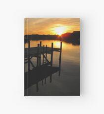 Black Sound Sunrise  Hardcover Journal