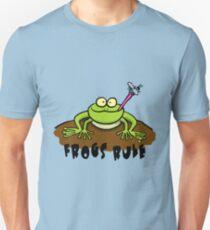 Cool frog cartoon design Unisex T-Shirt