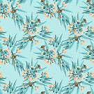 Eucalyptus Copper, Peach & Duckegg Blue by ThistleandFox