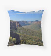 Grose Valley Throw Pillow