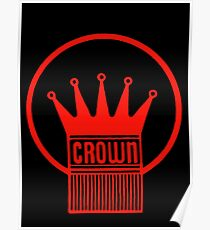 Old Style Red Crown Poster