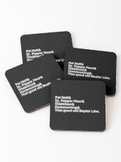 Baylor - Helvetica Ampersand Typography Coasters