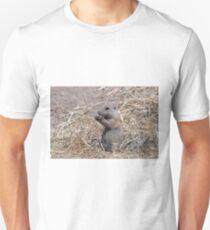 prairie dog eats food wildlife Unisex T-Shirt