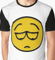 Unhappy face Graphic T-Shirt