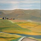 Dreams of Spanish fields by BM Ruskin