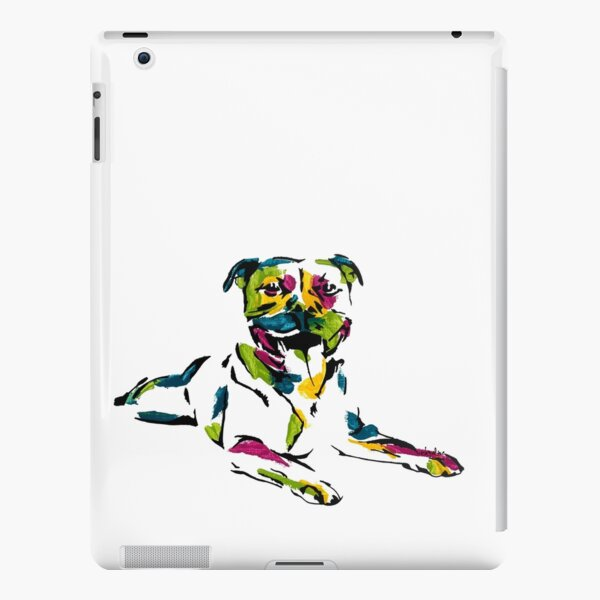 Boris the Staffordshire Terrier *dark iPad Snap Case