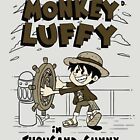 Steamboat Luffy Classic Monotone Ver by xiaobaosg