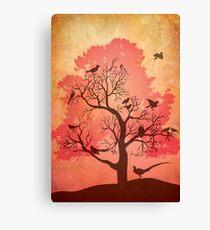 Tree of beaks Canvas Print