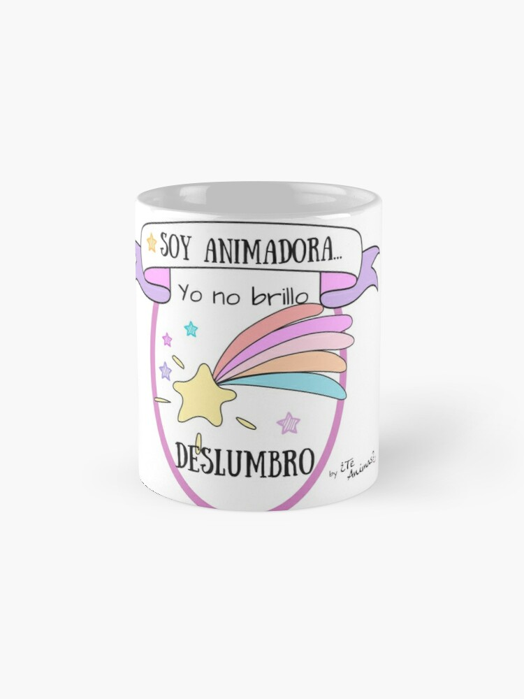 Vista alternativa de Taza Taza para Animadoras Brillantes