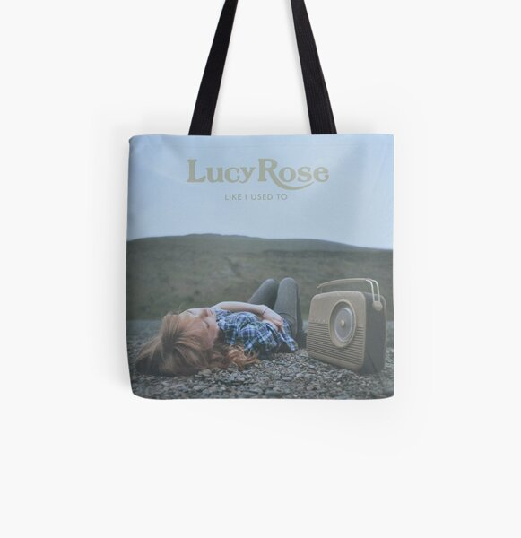 Lucy Rose - like i used to LP Sleeve artwork Fan art All Over Print Tote Bag