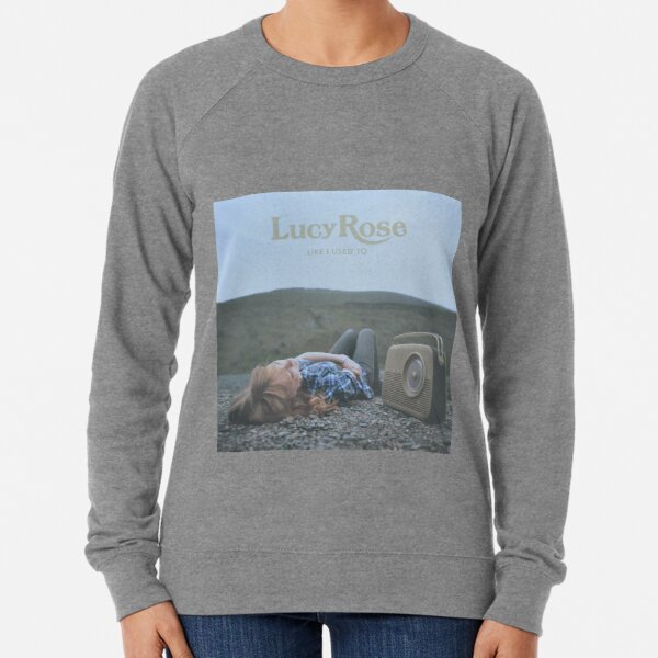 Lucy Rose - like i used to LP Sleeve artwork Fan art Lightweight Sweatshirt