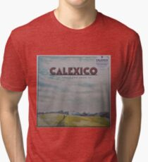 Calexico - The thread that keeps us LP Sleeve artwork Fan art Tri-blend T-Shirt
