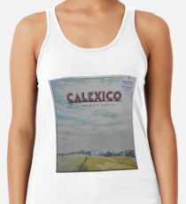 Calexico - The thread that keeps us LP Sleeve artwork Fan art Racerback Tank Top