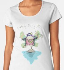 Cute Fairy Penguin Premium Scoop T-Shirt