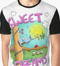 Sweet Dreams - Cute Sleeping Koala Graphic T-Shirt