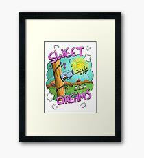 Sweet Dreams - Cute Sleeping Koala Framed Print