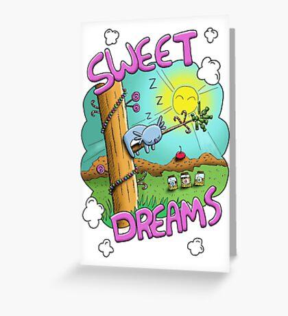 Sweet Dreams - Cute Sleeping Koala Greeting Card
