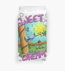 Sweet Dreams - Cute Sleeping Koala Duvet Cover