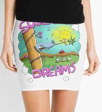 Sweet Dreams - Cute Sleeping Koala Mini Skirt