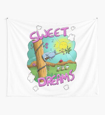 Sweet Dreams - Cute Sleeping Koala Wall Tapestry