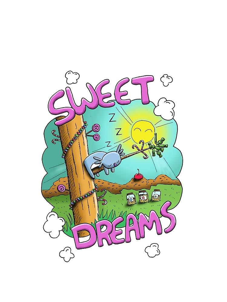 Sweet Dreams - Cute Sleeping Koala by eddcross